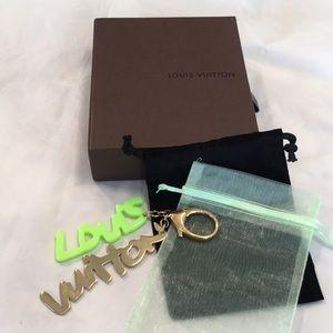 Louis Vuitton Accessories - Authentic Louis Vuitton Stephen Sprouse Bag Charm